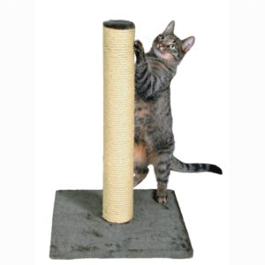 Un arbre à chat en sisal vertical